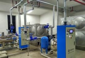 湖南长沙麓谷高新技术开发区养老院项目-智能化箱式无负压供水设备