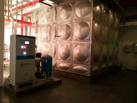 湖南衡阳市蒸湘区人民法院项目-智能化箱式泵站