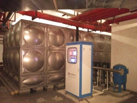 湖南长沙诺舟大药房物流配送中心项目-智能型箱式泵站