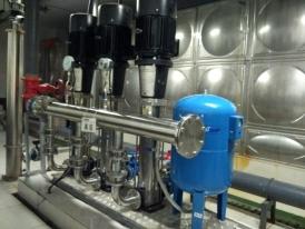 湖南省长沙三一街区项目-3套变频恒压供水设备