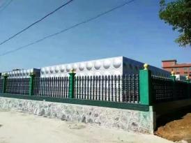 湖南省常德桃源县工业园项目-自来水加压泵站4600立方方形不锈钢水箱