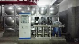 湖南长沙市汇远大厦项目-智能型箱式泵站