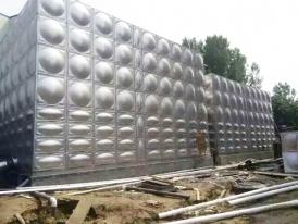 贵州凯里经济技术开发区项目-不锈钢方形水箱