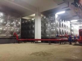 贵州省铜仁760立方不锈钢水箱项目