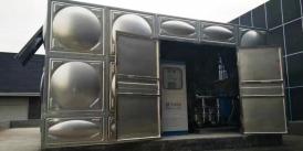 湖南省长沙多喜爱产业园项目-智能箱泵一体化供水设备