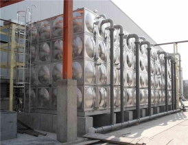 不锈钢保温水箱  一体化箱式泵站