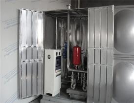 一体化箱式泵站  供水设备厂家
