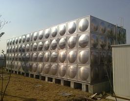 不锈钢方形水箱  一体化箱式泵站
